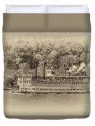 The Belle Of Louisville Duvet Cover