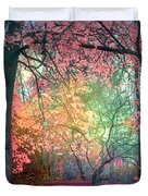 The Bench That Dreams Duvet Cover