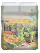 The Bend In The Road Duvet Cover