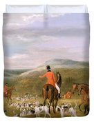 The Berkeley Hunt Duvet Cover