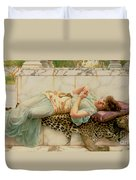 The Betrothed Duvet Cover by John William Godward