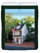 The Betsy Ross House Philadelphia Duvet Cover by Bill Cannon