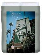 The Beverly Hills Duvet Cover