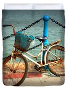 The Bicycle Duvet Cover