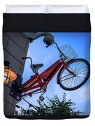 The Bicycle Thief - Halifax Duvet Cover