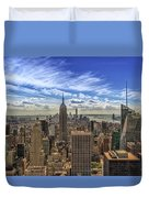 The Big Apple Duvet Cover