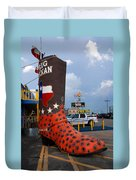 The Big Boot Duvet Cover