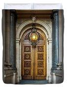 The Big Doors Duvet Cover