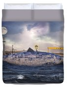 The Big Fish Duvet Cover