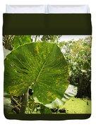 The Big Leaf Duvet Cover