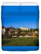 The Biltmore Estate Duvet Cover by Michael Tesar