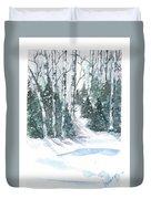 The Birch Trees Duvet Cover