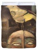 The Birdman Of Alcatraz Duvet Cover