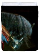 The Black Horse I Duvet Cover