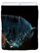The Black Horse Iv Duvet Cover
