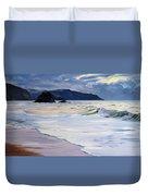 The Black Rock Widemouth Bay Duvet Cover