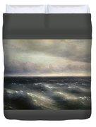 The Black Sea Duvet Cover