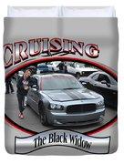 The Black Widow Butterfield Duvet Cover