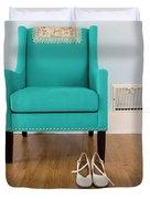 The Blue Chair Duvet Cover