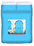 The Blue Door Shutters Duvet Cover