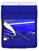 The Blue Ferry Duvet Cover