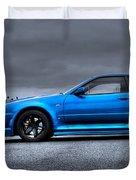 The Blue Ghost Duvet Cover