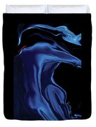 The Blue Kiss Duvet Cover