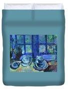 The Blue Kitchen Duvet Cover