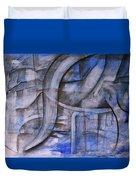 The Blue Machine Duvet Cover