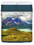 The Blue Massif Duvet Cover