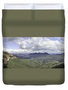 The Blue Mountains Duvet Cover