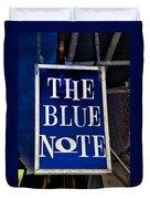 The Blue Note - Bourbon Street Duvet Cover