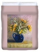 The Blue Pitcher Duvet Cover