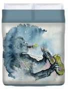 The  Blues In The Night Duvet Cover