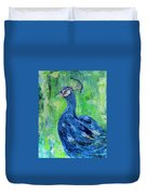 The Blues,peacock  Duvet Cover