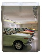 The Bmw Line Up Duvet Cover