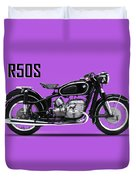 The R50s Motorcycle Duvet Cover