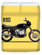 The R80 Motorcycle 1978 Duvet Cover