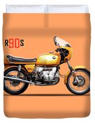 The R90s Motorcycle 1974 Duvet Cover