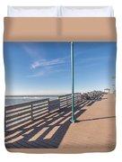The Boardwalk Duvet Cover