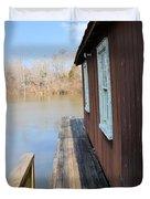The Boat House Duvet Cover