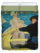 The Boating Party Duvet Cover