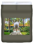 The Bonnet House - Interior Garden Duvet Cover