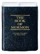 The Book Of Mormon Duvet Cover
