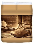 The Boots Duvet Cover