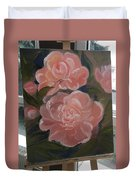 The Bouquet Of Peonies Duvet Cover