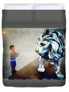 The Boy And The Lion 10 Duvet Cover