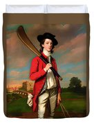 The Boy With A Bat - Walter Hawkesworth Fawkes Duvet Cover