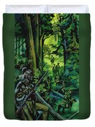 The Braddock Expedition Duvet Cover