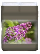 The Branch Of Lilac Duvet Cover